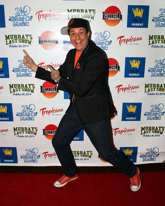 MURRAY Performs Final Show at The Tropicana Laugh Factory after 2 1/2 Year Run