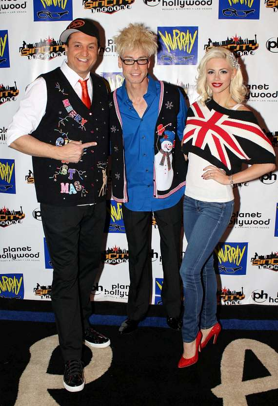 MURRAY Hosts Celebrity Red Carpet Event at his new home in Planet Hollywood Las Vegas