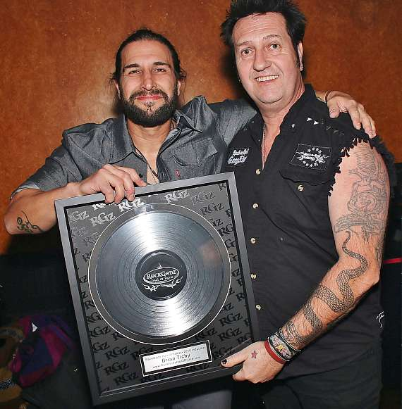 Brian Tichy and Lez Warner