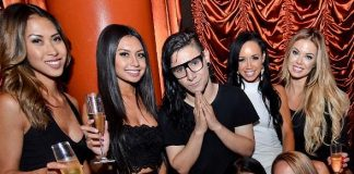 Skrillex at Surrender Nightclub 5-Year Anniversary Party