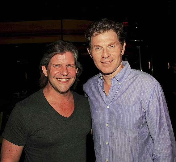 Bobby Flay's BBP Bar Launch Party