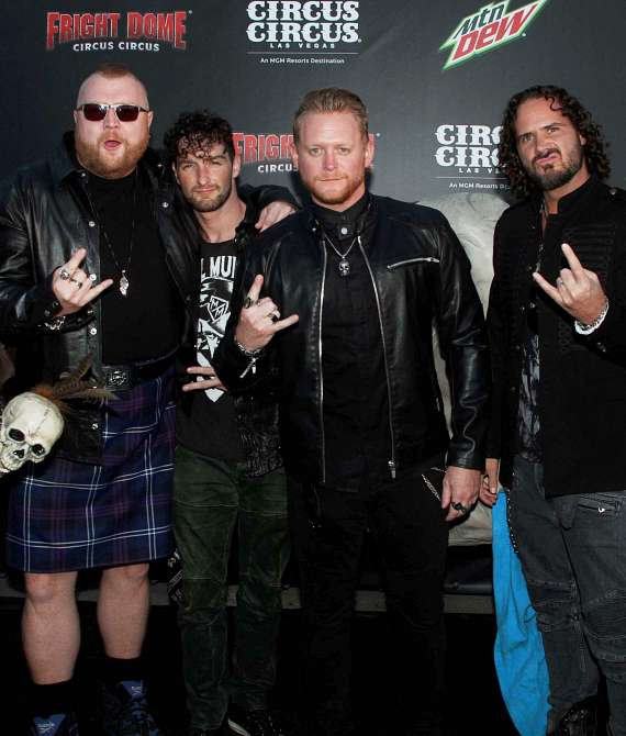 The Tenors of Rock on Black Carpet at Fright Dome