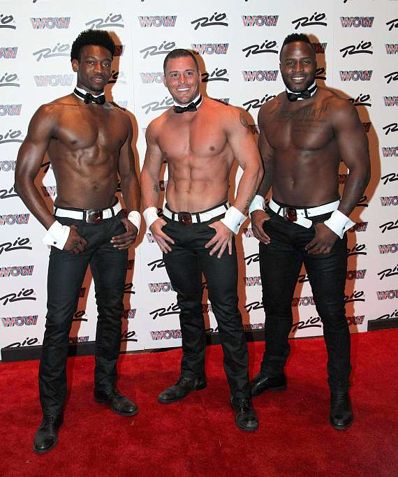 """Las Vegas Headliners Human Nature,Chippendales,Melody Sweets,The Tenors of Rock, Anthony Cools, Jennifer Romas,Sexxy,Ricardo Laguna and More Attend the Las Vegas Debut of """"WOW – World Of Wonder"""" at the Rio All-Suite Hotel & Casino"""