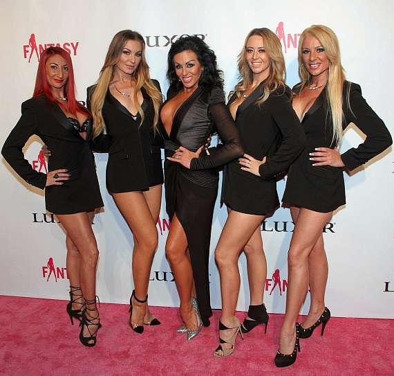 """Jennifer Romas and cast of """"Sexxy the Show"""""""