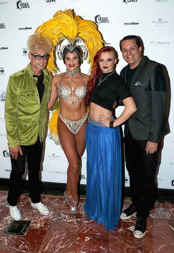 """Photo Gallery: Celebrities Walk the Red Carpet at """"Vegas Cures"""" Benefit at The Venetian Las Vegas"""