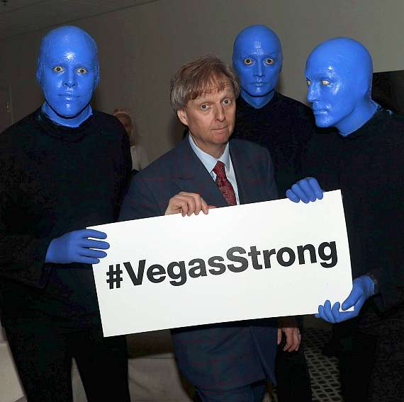 Mac King and The Blue Men Group