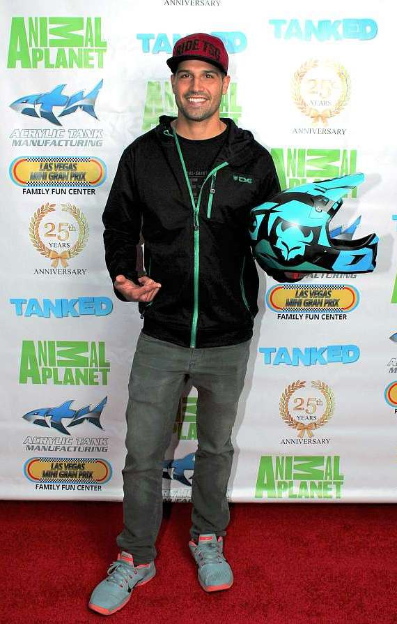First place winner, BMX star Ricardo Laguna