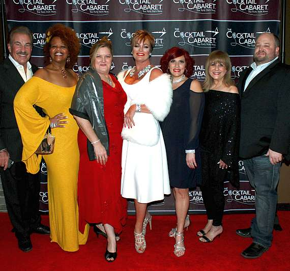 The Cocktail Cabaret, The Strip's Newest Vintage Vegas Broadway-Cabaret-Style Live Music Revue, Celebrates Red Carpet Grand Opening at Cleopatra's Barge in Caesars Palace
