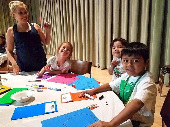 Local Military Families Participate in Arts Workshop through New Program at The Smith Center for the Performing Arts