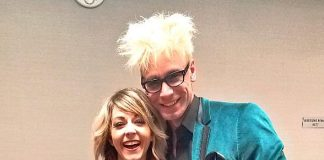 Murray the Magician Visits Violinist Lindsey Stirling Back Stage at The Cosmopolitan of Las Vegas