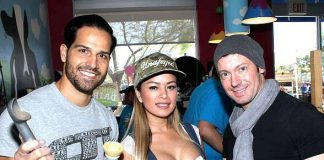 """Photo Gallery: Ben & Jerry's """"Free Cone Day"""" Benefit for CASA Foundation with Ricardo Laguna, Chippendales, David Goldrake, Dixie Miranda, Zowie Bowie, John Di Domenico and More"""