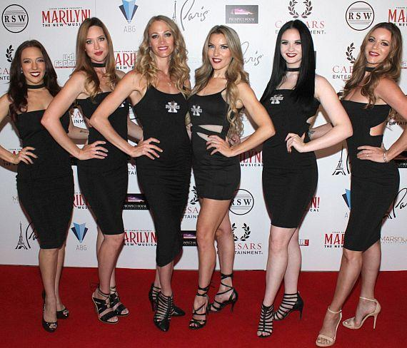 """Cast of """"X Rocks"""" at """"Marilyn! The New Musical"""""""