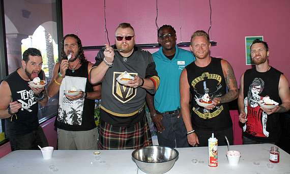 Tenors of Rock with Rockin' Poppin' Doughnut Sundaes