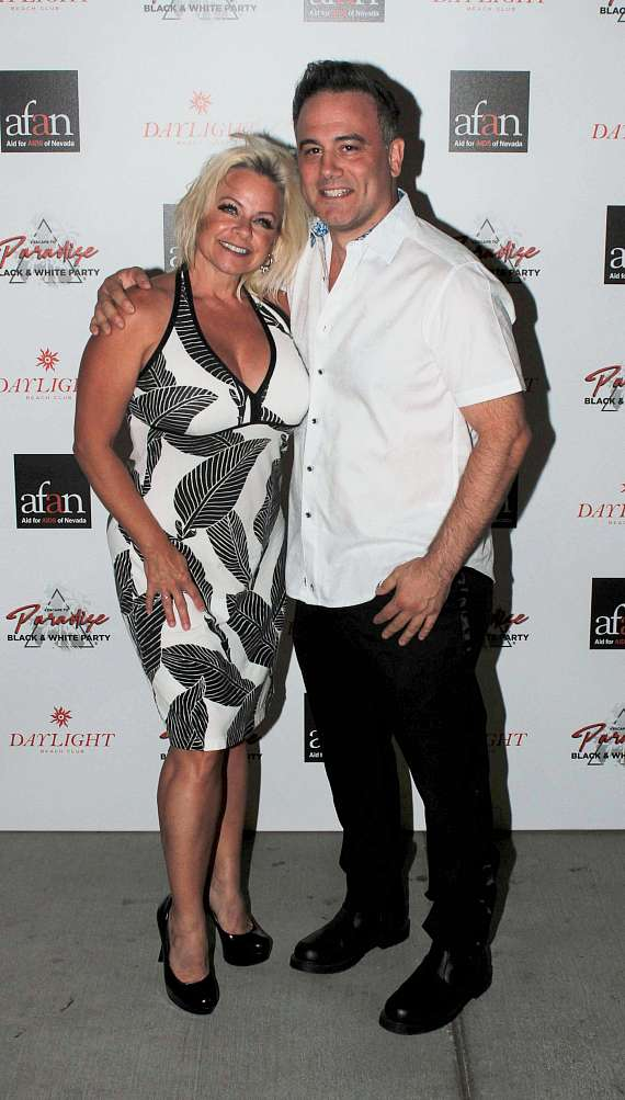 Guests at AFAN Black & White Party