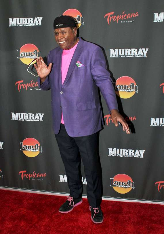"""Comedian George Wallace at """"Murray the Magician"""""""