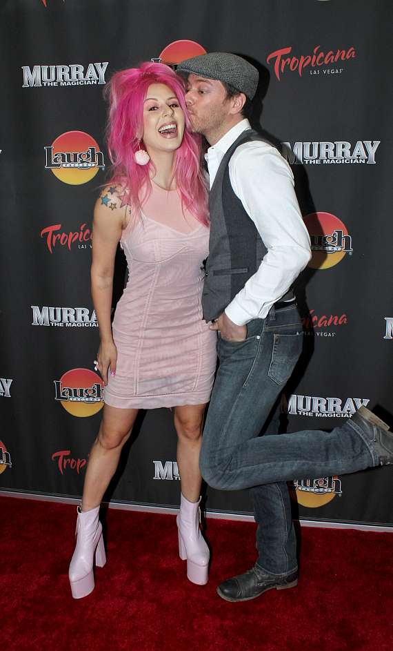 """JD Scott & Annalee Belle at """"Murray the Magician"""" in Las Vegas"""