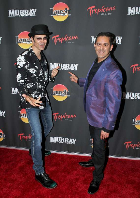 "Masters of Illusions stars Jarrett and Raja at ""Murray the Magician"""