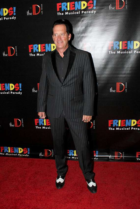 "Hypnotist Anthony Cools at ""FRIENDS The Musical"""