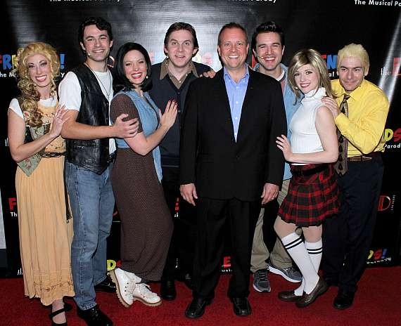 The Las Vegas cast of FRIENDS! The Musical Parody