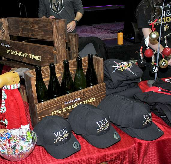 "VGK Ladies Host ""Silent Knight"" Vegas Golden Knights Festival & Vendor Fair at The Space in Las Vegas"
