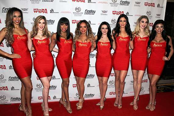 "Cast of FANTASY at ""Toys for Tots"" Charity Benefit in Las Vegas"