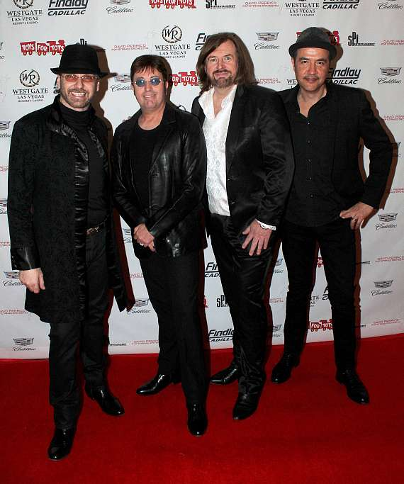 "Australian Bee Gees at ""Toys for Tots"" Charity Benefit in Las Vegas"