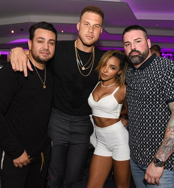 Tinashe, Rich The Kid, Blake GriffIn Spotted at APEX Social Club in Las Vegas