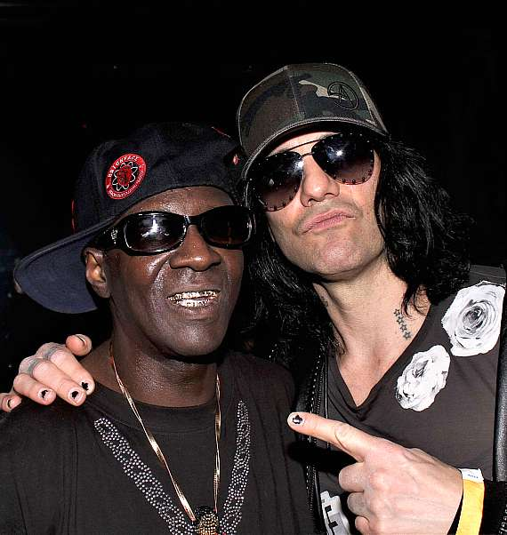 Flavor Flav with Criss Angel at Club 172 at The Rio Las Vegas