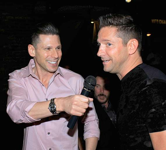Mike Hammer with Jeff Timmons