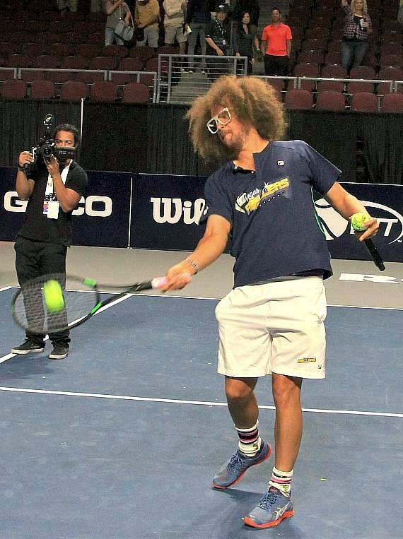 Redfoo at World Team Tennis
