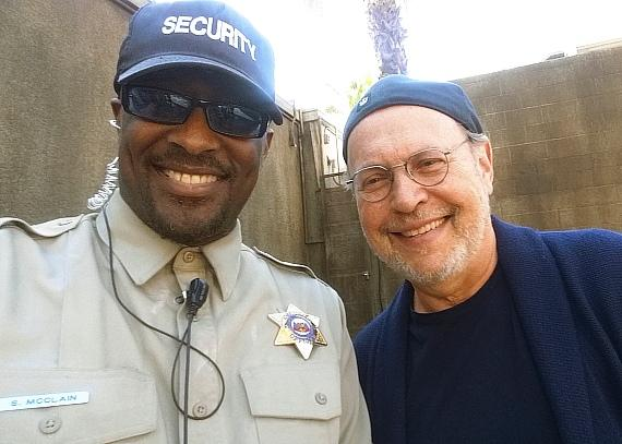 Billy Crystal at SAW Escape Room in Las Vegas