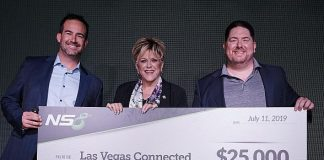 "NS8 Donates $25,000 to help Launch The Mayor's ""Las Vegas Connected"" Initiative"