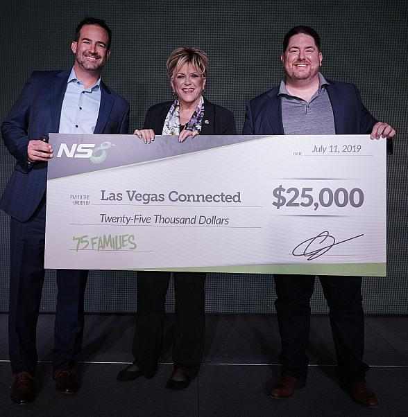 """NS8 Donates $25,000 to help Launch The Mayor's """"Las Vegas Connected"""" Initiative"""