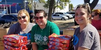 Starbucks Employees Volunteer at Three Square Mobile Pantry Food Site to Help Alleviate Hunger