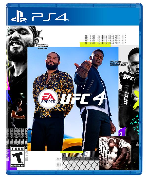 EA Sports UFC Officially Revealed With UFC Middleweight Champion Israel Adesanya and UFC Welterweight Jorge Masvidal as Cover Athletes