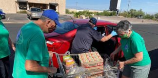 Drive Thru Food Drive with Serving our Kids Foundation