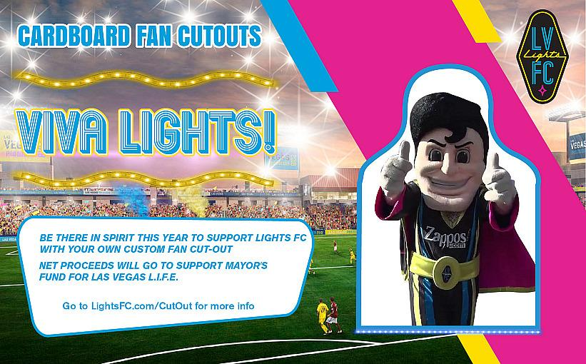 """Lights FC Offers """"Cardboard Fan Cutouts"""" So Fans Can Still """"Attend"""" Matches This Season"""
