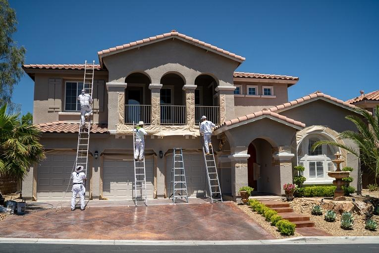 In a Hot Real Estate Market, Blue Ape Painting Offers a Simple Online Solution To Refresh a Home's Exterior