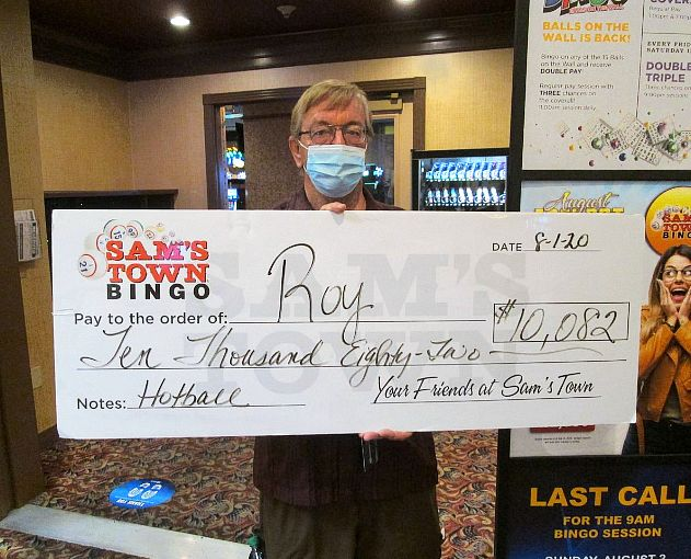 Local Resident Scores $10,000+ on a Bingo Hotball Jackpot at Sam's Town Las Vegas