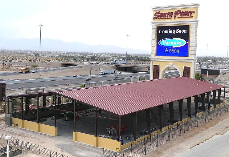 South Point Hotel, Casino & Spa Announces Farnam Arena, the Newest Addition To The Equestrian Center