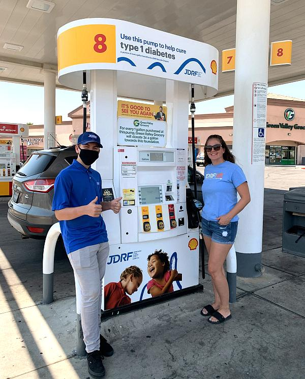 Charitable Gas Pump Launches to Assist JDRF with Fundraising as Recovery from COVID-19 Impact Continues