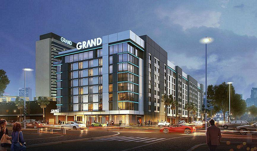 Downtown Grand Hotel & Casino's Third Tower Expansion Named  Gallery Tower Now Accepting Reservations for Stays Starting Sept. 22