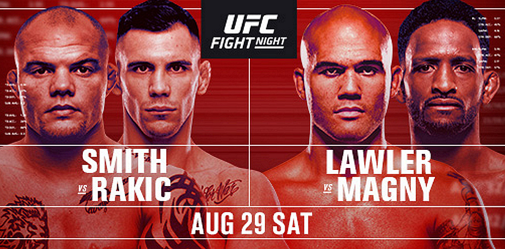 Light Heavyweight Finishers Round Out Stacked August Action as (#5) Anthony Smith Takes on (#8) Aleksandar Rakic