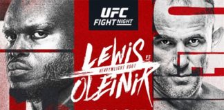 Hard-Hitting Heavyweight Finishers (#4) Derrick Lewis and (#11) Aleksei Oleinik Collide at UFC Apex