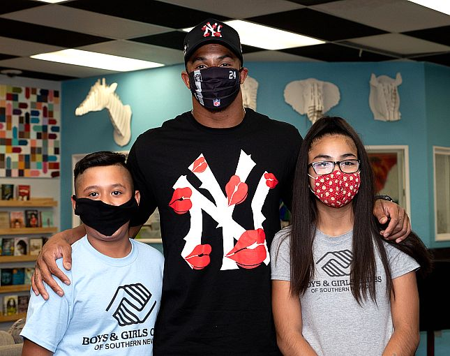 Health Plan of Nevada, Joined by Special Guest Johnathan Abram of the Las Vegas Raiders, Support Virtual Learning Needs with Laptop Donation to Boys & Girls Clubs of Southern Nevada