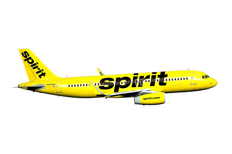 Spirit Announces Nonstop Flights to Las Vegas from Orange County