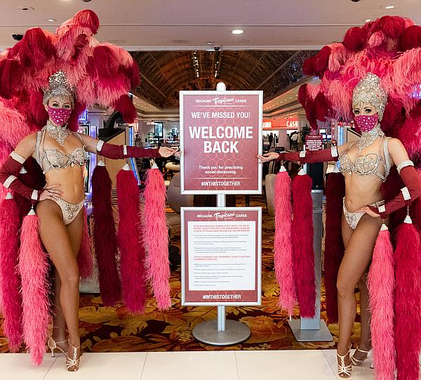 Tropicana Las Vegas Reopens With Anticipated Guest Excitement, Glitz and Glamour