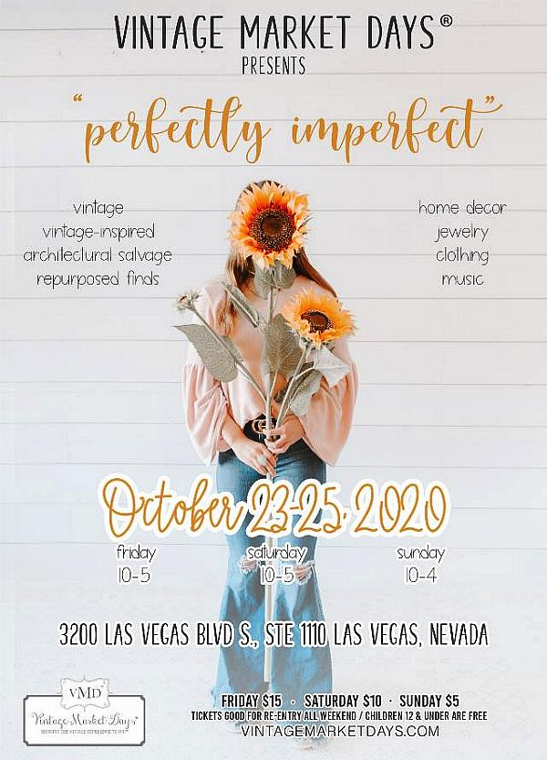 """Vintage Market Days of Southern Nevada Returns With """"Perfectly Imperfect"""" Fall Market at Fashion Show Mall Oct. 23-25"""