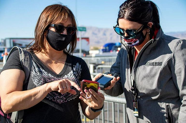 LVMS Welcomes Fans and Media for Pre-Event Safety Walk Through