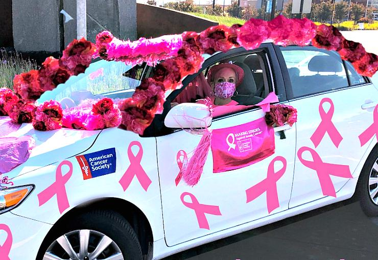 Making Strides - Drive Thru Parade for the American Cancer Society - Sunday, Oct. 18 for Breast Cancer Awareness